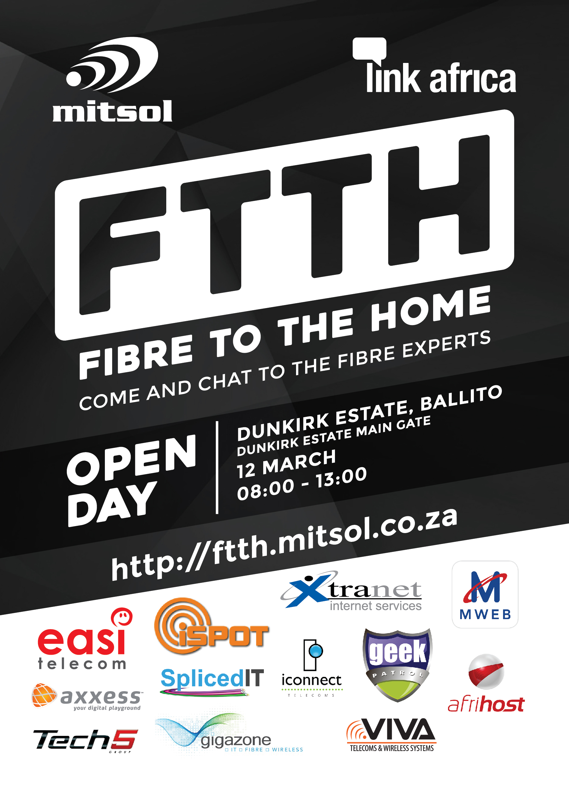 Mitsol Fibre to the home FLYER Dunkirk Estate Ballito